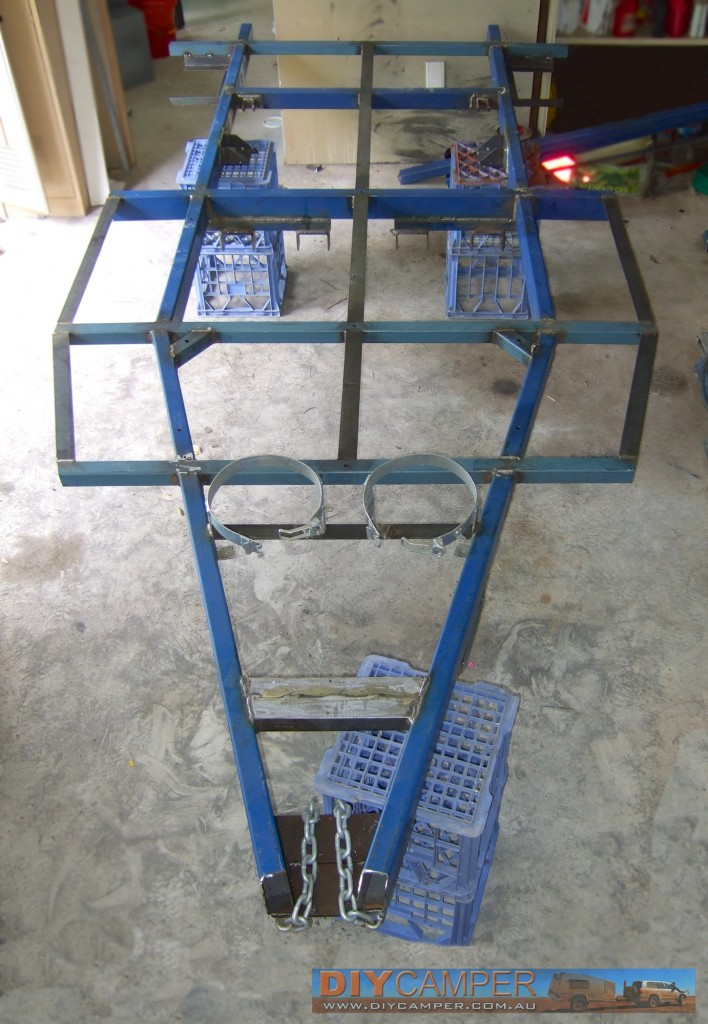 Steel chassis fabrication