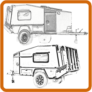 DIY Camper: Building a home made camper trailer design