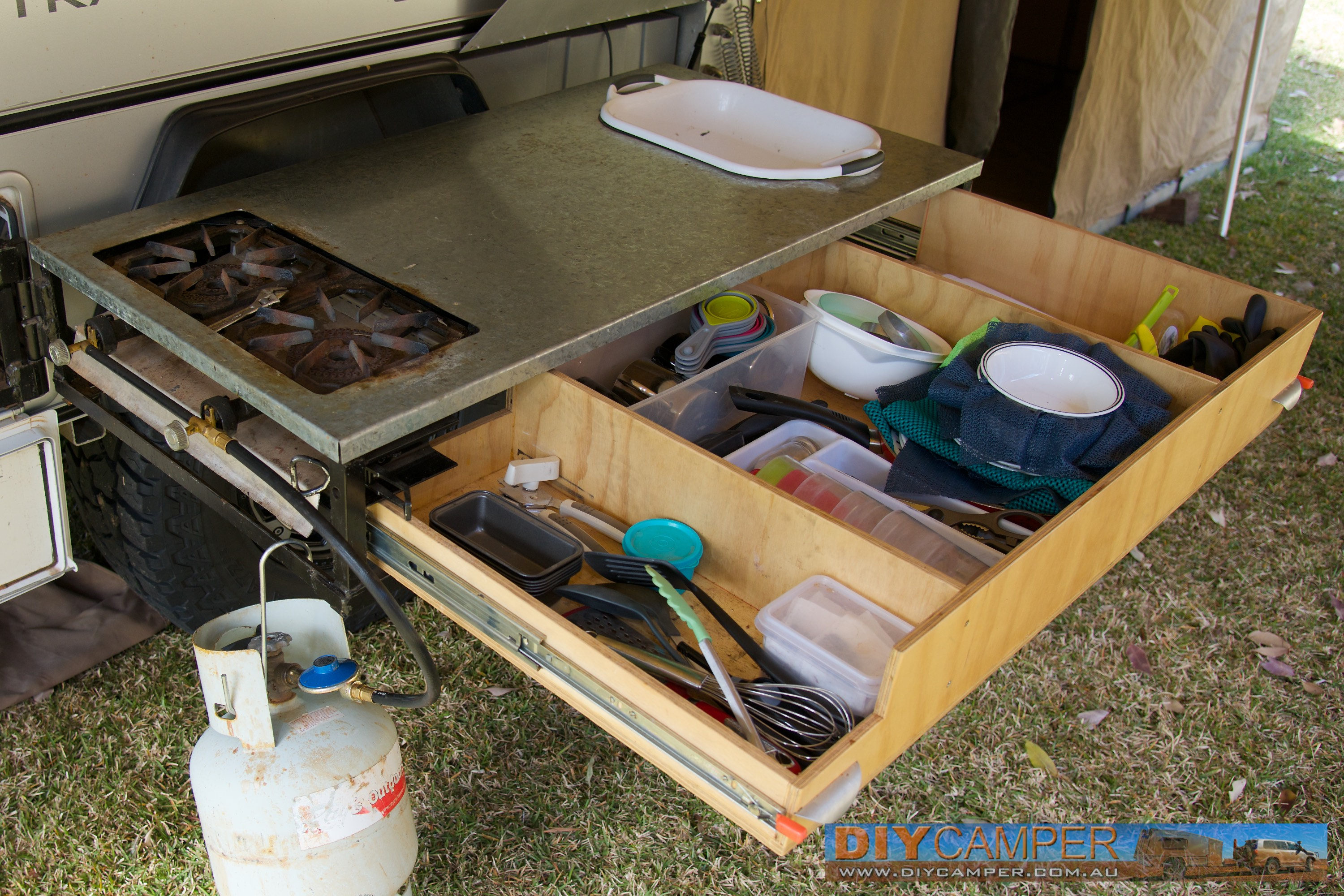 Kitchen Diy Camper