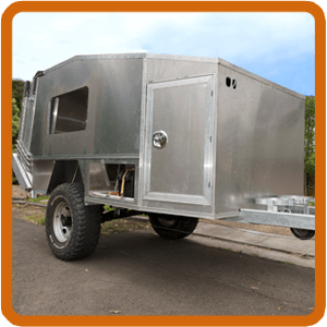 DIY Camper: Building a home made camper trailer body