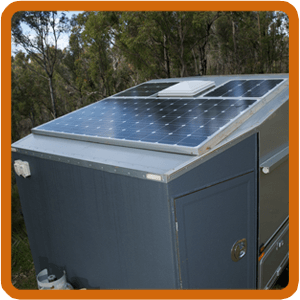 DIY Camper: Building a home made camper trailer solar panels