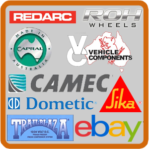 DIY Camper: Building a home made camper trailer component suppliers