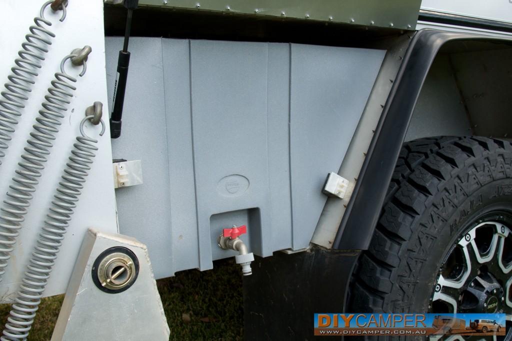 Dynaplas 38L water tank